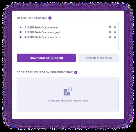 Stenovate Share Files